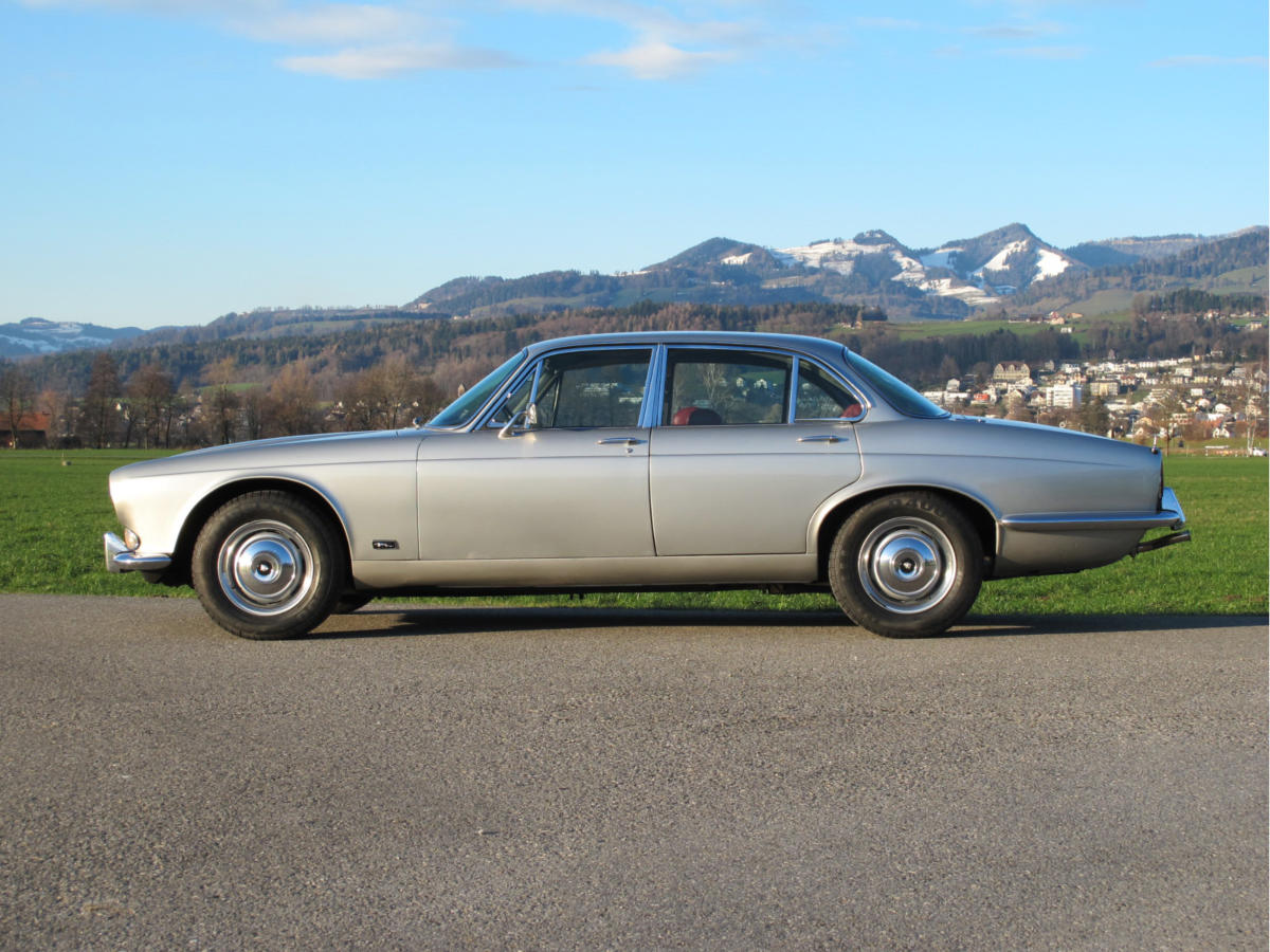 jaguar xj6 serie 1 4-2 litre automatic silber 1972 0000 1