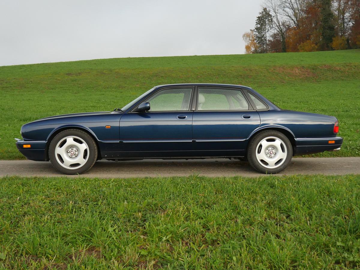 jaguar xjr6 4.0 dunkelblau 1994 0000 1