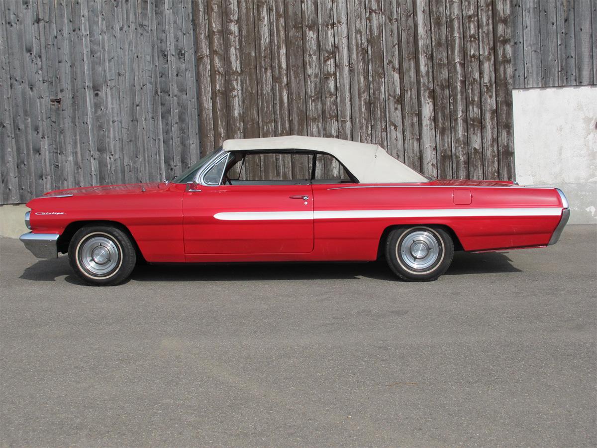 pontiac catalina v8 cabrio 389cui rot 1963 0000 1