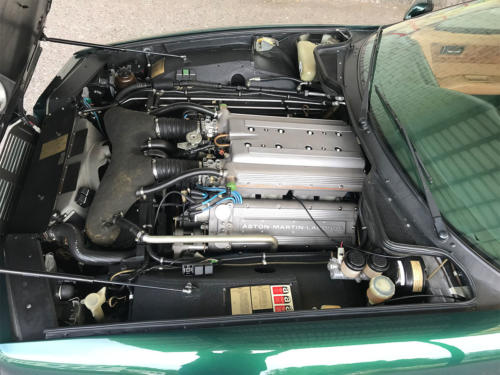 aston martin virage v8 coupe manual dunkelgruen 1990 0012 13