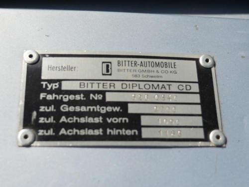 bitter cd diplomat fjordblau 1978 0017 18