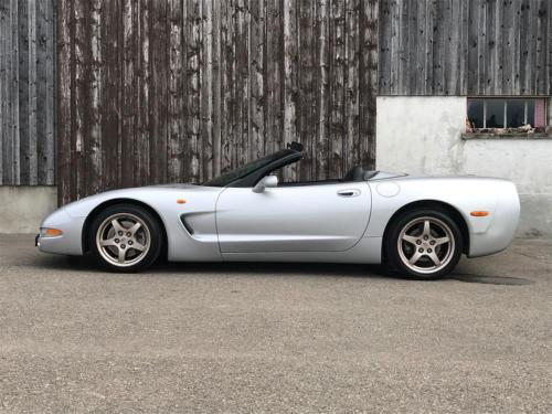chevrolet corvette c5 cabrio ls1 silber 1998 0000 Ebene 15