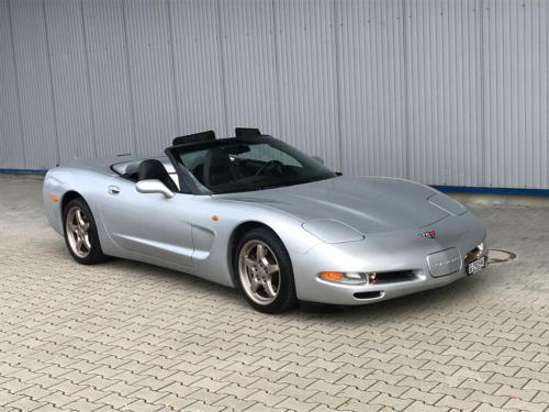 chevrolet corvette c5 cabrio ls1 silber 1998 0001 Ebene 14