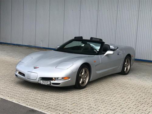 chevrolet corvette c5 cabrio ls1 silber 1998 0002 Ebene 13