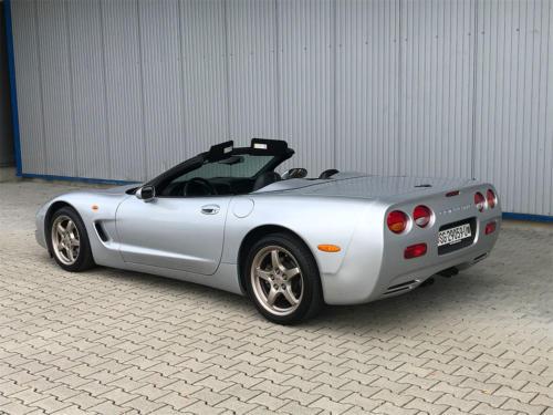 chevrolet corvette c5 cabrio ls1 silber 1998 0003 Ebene 12