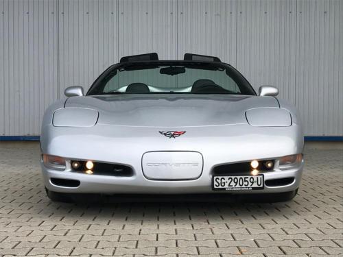 chevrolet corvette c5 cabrio ls1 silber 1998 0004 Ebene 11