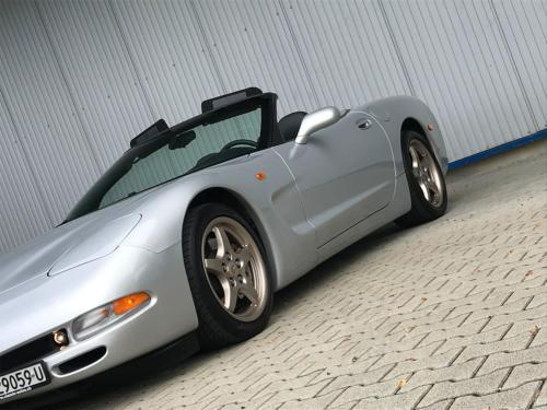 chevrolet corvette c5 cabrio ls1 silber 1998 0006 Ebene 9