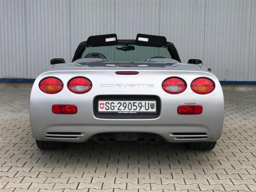 chevrolet corvette c5 cabrio ls1 silber 1998 0007 Ebene 8