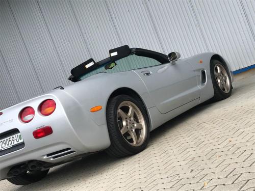 chevrolet corvette c5 cabrio ls1 silber 1998 0009 Ebene 6