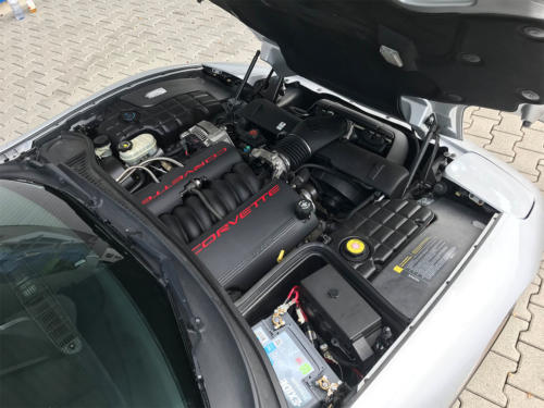 chevrolet corvette c5 cabrio ls1 silber 1998 0012 Ebene 3