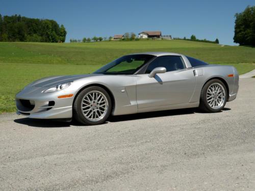 chevrolet corvette c6 targa 6 Liter silber metallic 2005 0001 2