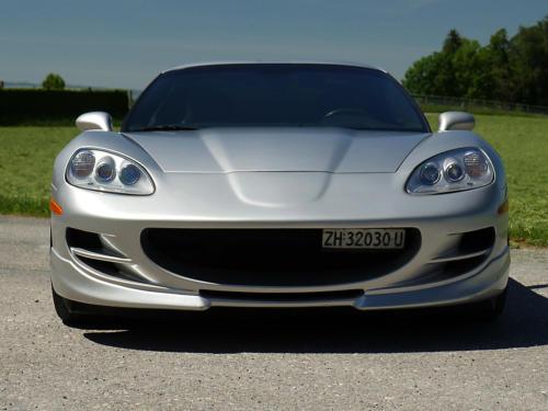 chevrolet corvette c6 targa 6 Liter silber metallic 2005 0003 4