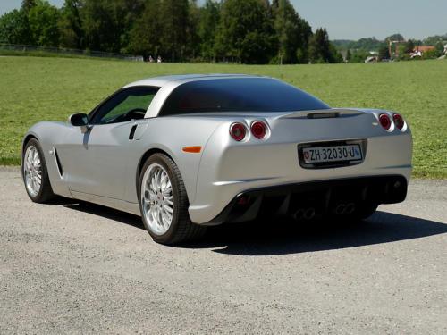 chevrolet corvette c6 targa 6 Liter silber metallic 2005 0005 6