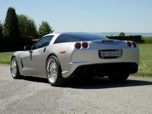 chevrolet corvette c6 targa 6 Liter silber metallic 2005 0006 7