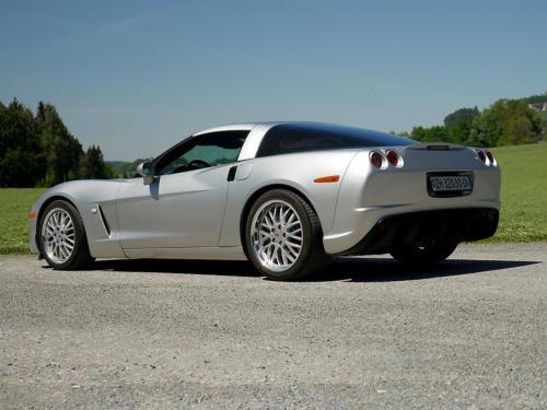 chevrolet corvette c6 targa 6 Liter silber metallic 2005 0007 8