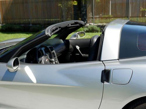 chevrolet corvette c6 targa 6 Liter silber metallic 2005 0011 12