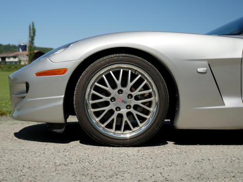 chevrolet corvette c6 targa 6 Liter silber metallic 2005 0013 14