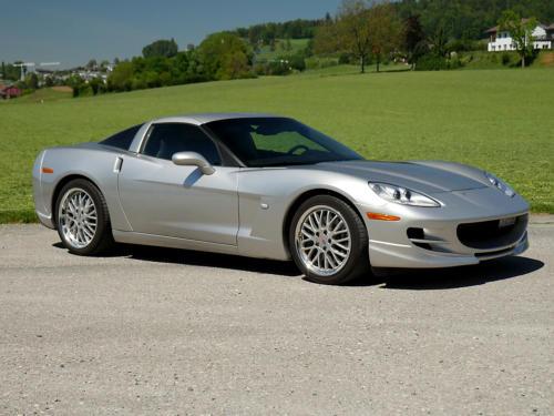 chevrolet corvette c6 targa 6 Liter silber metallic 2005 0016 17