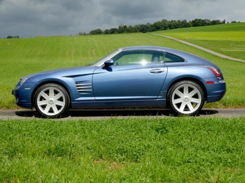 chrysler crossfire 3-2 coupe blau metallic 2007 0000 1
