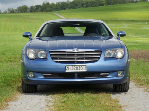 chrysler crossfire 3-2 coupe blau metallic 2007 0002 3