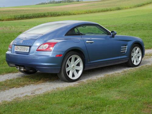 chrysler crossfire 3-2 coupe blau metallic 2007 0005 6
