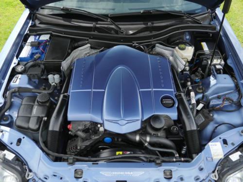 chrysler crossfire 3-2 coupe blau metallic 2007 0010 11