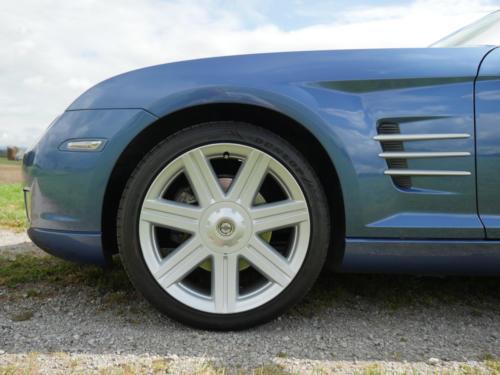 chrysler crossfire 3-2 coupe blau metallic 2007 0012 13