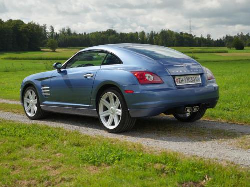 chrysler crossfire 3-2 coupe blau metallic 2007 0014 15