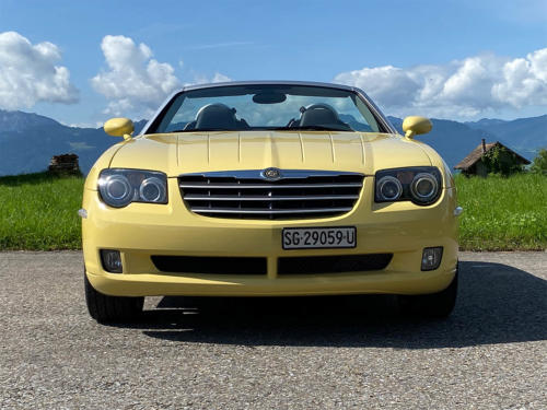 chrysler crossfire 3-2 v6 roadster gelb 2005 0004 IMG 5