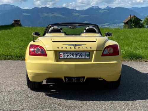 chrysler crossfire 3-2 v6 roadster gelb 2005 0006 IMG 7