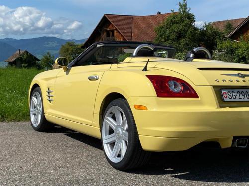 chrysler crossfire 3-2 v6 roadster gelb 2005 0007 IMG 8