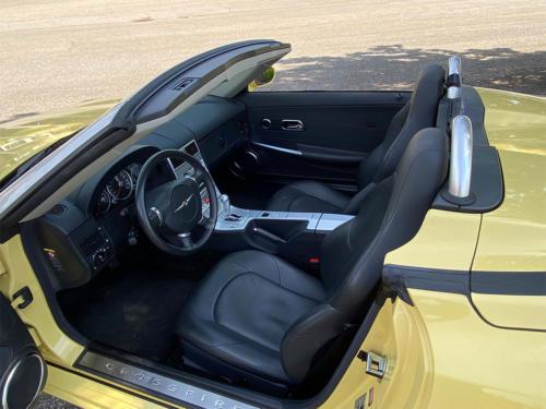 chrysler crossfire 3-2 v6 roadster gelb 2005 0011 IMG 12