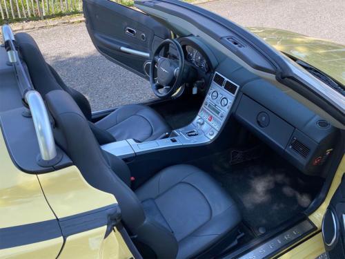 chrysler crossfire 3-2 v6 roadster gelb 2005 0012 IMG 13