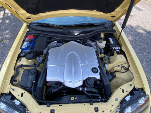 chrysler crossfire 3-2 v6 roadster gelb 2005 0015 IMG 16