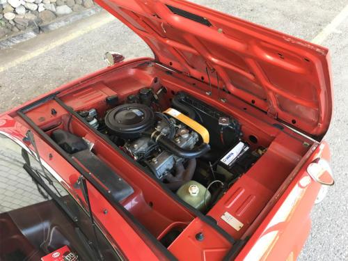 fiat 124 cc sport 1600 coupe rotbraun 1974 0014 IMG 15