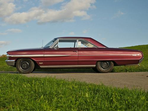 ford galaxie 500 xl 427 r code rubyred 1964  0000 1