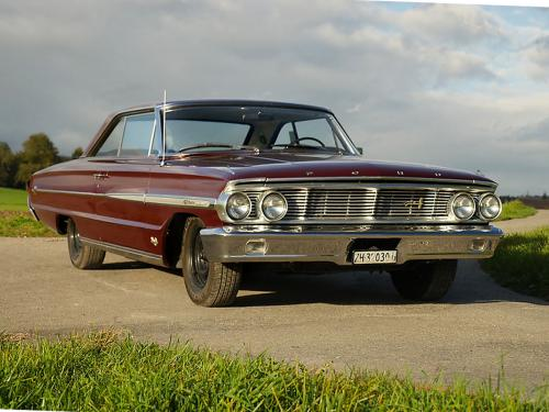ford galaxie 500 xl 427 r code rubyred 1964  0002 3