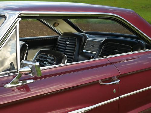 ford galaxie 500 xl 427 r code rubyred 1964  0005 6