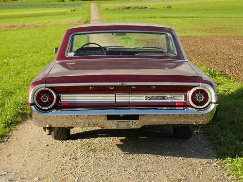 ford galaxie 500 xl 427 r code rubyred 1964  0010 11