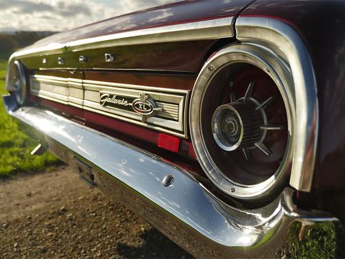 ford galaxie 500 xl 427 r code rubyred 1964  0011 12