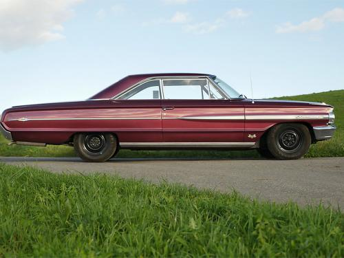 ford galaxie 500 xl 427 r code rubyred 1964  0012 13