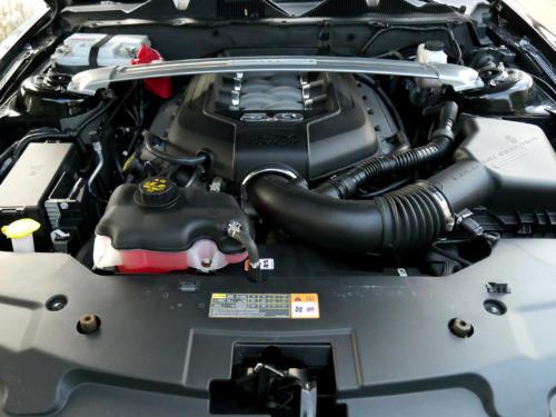 ford mustang gt 5-0 premium schwarz 2012 0010 11