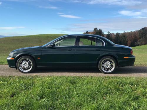 jaguar s-type 3-0 v6 dunkelgruen 2003 0000 1