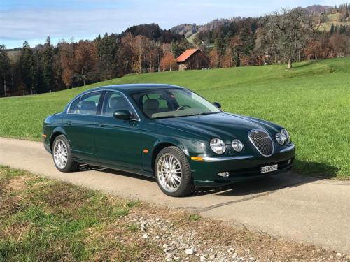 jaguar s-type 3-0 v6 dunkelgruen 2003 0001 2
