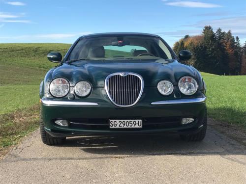 jaguar s-type 3-0 v6 dunkelgruen 2003 0003 4