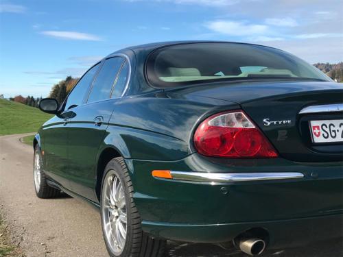 jaguar s-type 3-0 v6 dunkelgruen 2003 0007 8