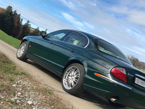 jaguar s-type 3-0 v6 dunkelgruen 2003 0008 9