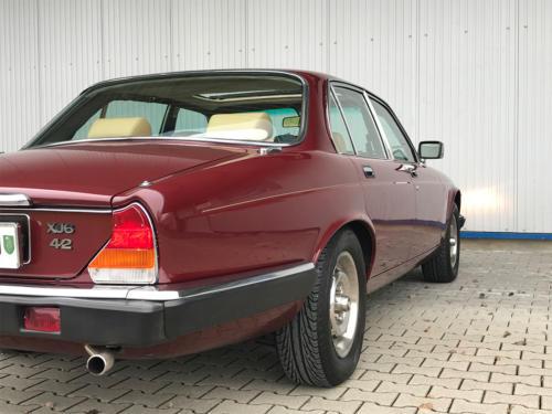 jaguar xj6 4-2 serie3 bordeaux 1984 0007 Ebene 8