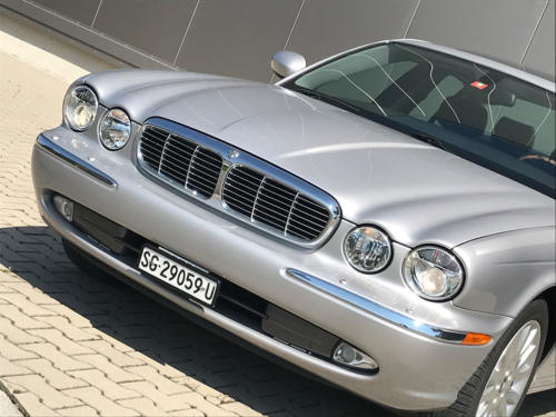 jaguar xj8 3.5 V8 Executive silber 2004 0005 6