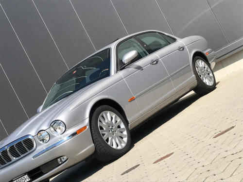 jaguar xj8 3.5 V8 Executive silber 2004 0006 7